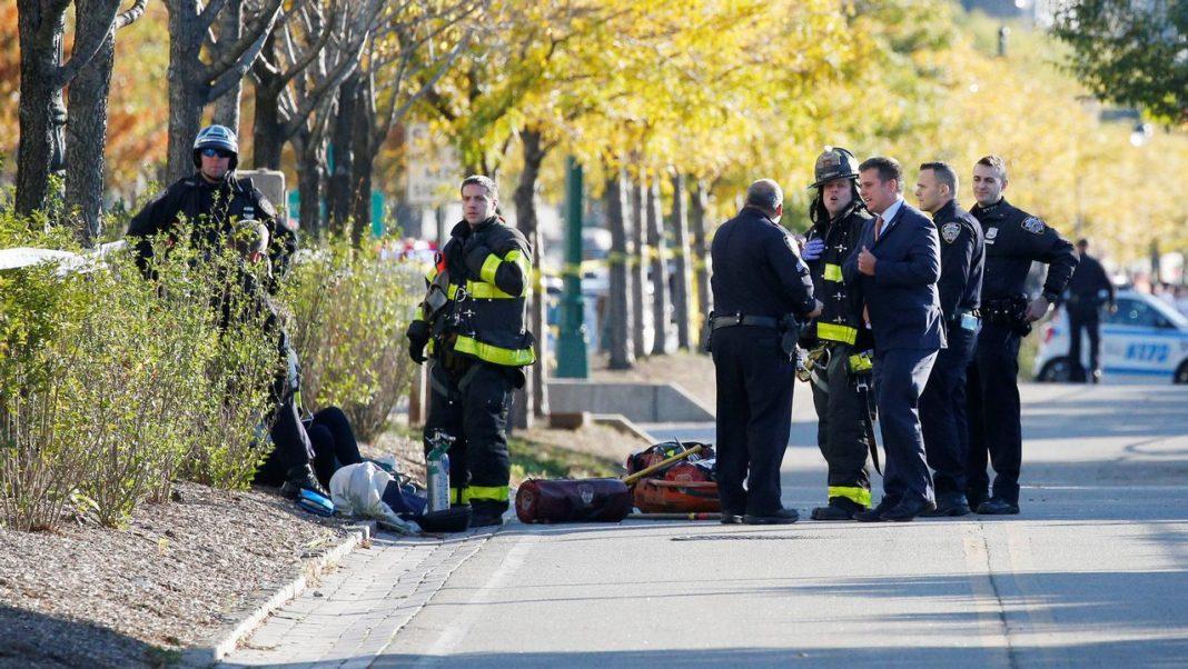 Al menos ocho muertos en un atentado terrorista en Manhattan