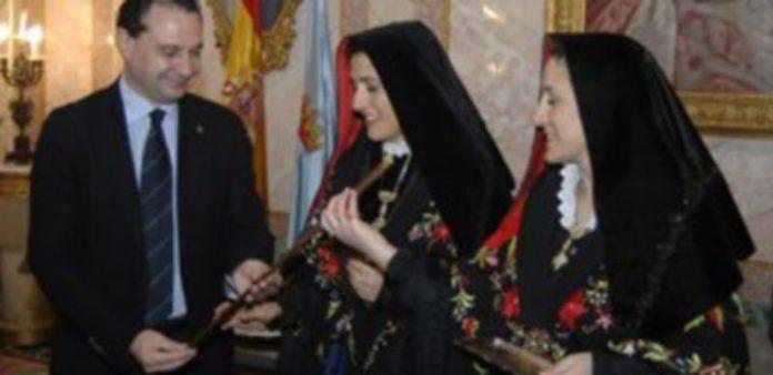 Las hermanas Alicia y María del Carmen Grande Velasco