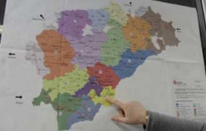 El nuevo mapa territorial de Segovia