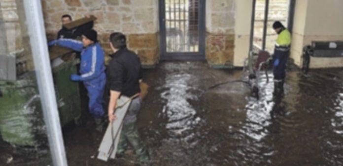 El pasado 2 de marzo se produjo la última inundación de la Ceca. En la imagen