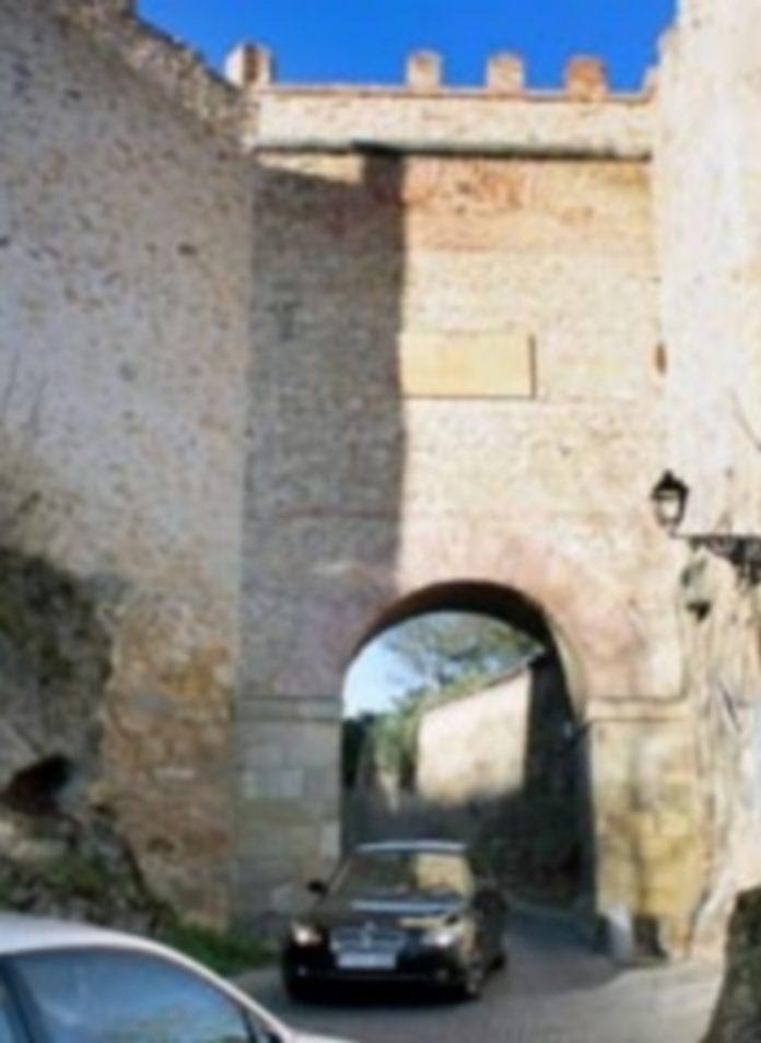 Arco de San Cebrián de la Muralla de Segovia. / E. A.