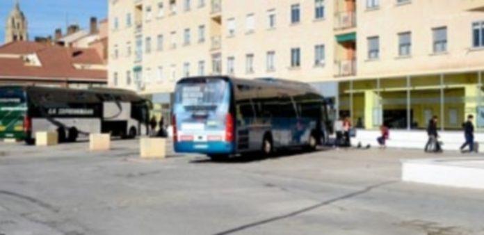 Campa de la terminal de autobuses