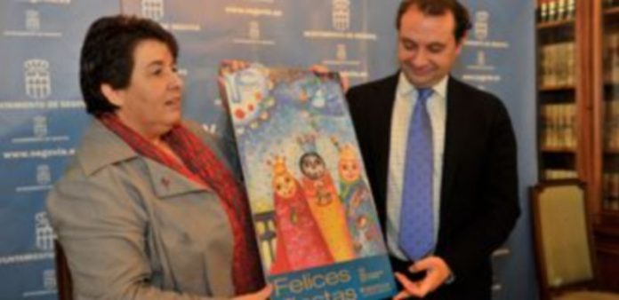 La concejala Clara Luquero y el alcalde