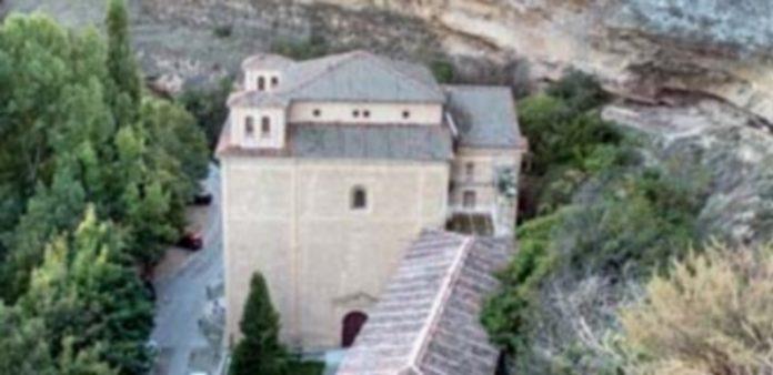 Imagen de la parte superior del Santuario de la Fuencisla
