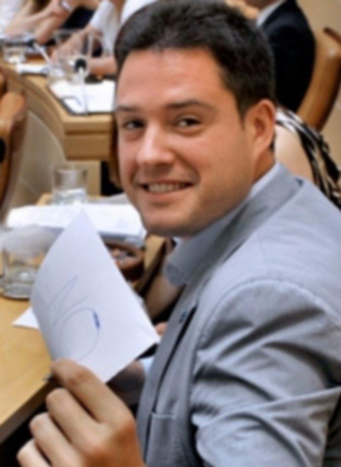 El concejal Javier Arranz