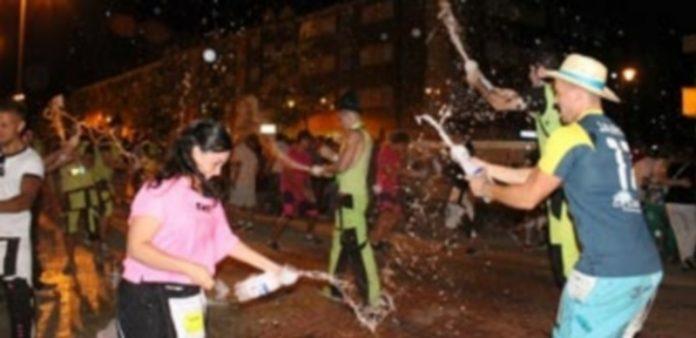 Las peñas llenan de color las fiestas de Nueva Segovia. / EL ADELANTADO