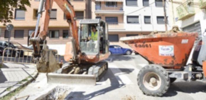 Renovación de la red de abastecimiento. / Cristina Yusta