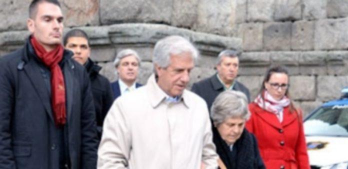 El presidente uruguayo