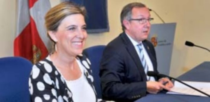 María José Salguiero y Javier López-Escobar