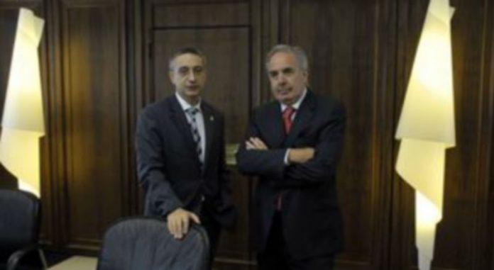 El director general de Caja Segovia