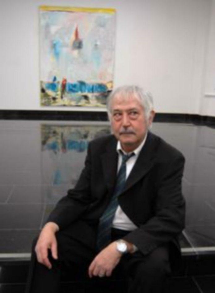 El artista Antonio Madrigal