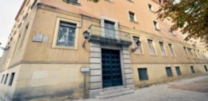 Fachada del antiguo Hospital Policlínico San Agustín
