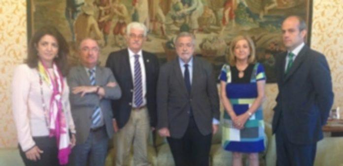 Los senadores del PP de Segovia