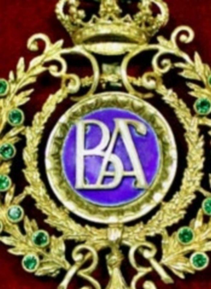 Detalle de la medalla. / El Adelantado