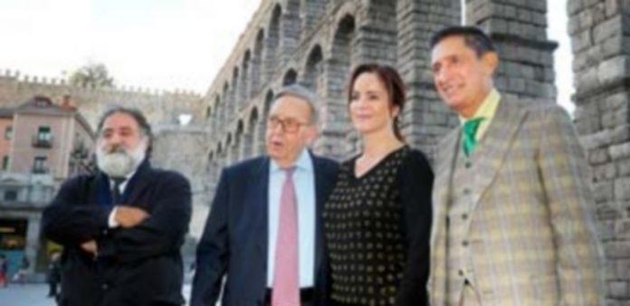 Los miembros del jurado Javier Pérez Andrés y Jesús Fonseca
