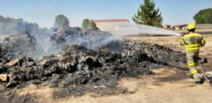 La provincia de Segovia ha vivido ya diferentes incendios este año. / KAMARERO