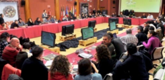 La asamblea de AEAFMA se está celebrando este fin de semana en las instalaciones del CENEAM de Valsaín. / Kamarero
