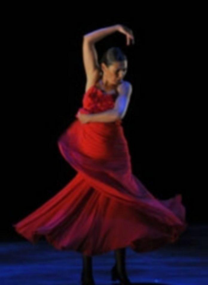 La bailaora gaditana Sara Baras durante una de sus anteriores actuaciones en Segovia. / Alberto Benavente