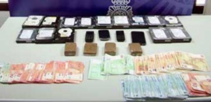 Los detenidos portaban la droga