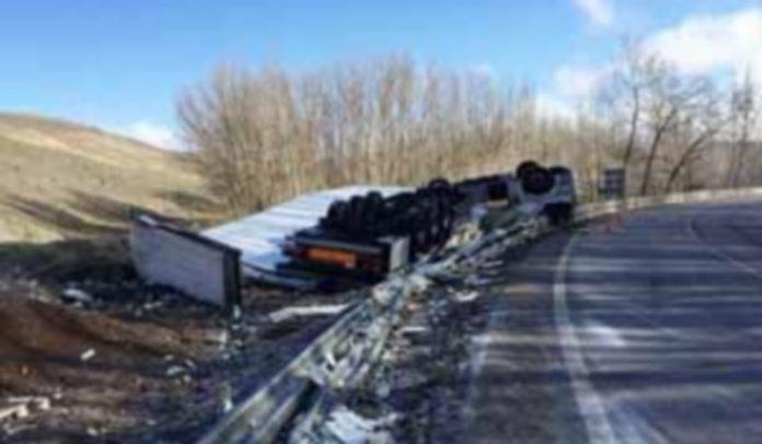 Uno de los accidentes ocurridos en el primer semestre del año. / el adelantado
