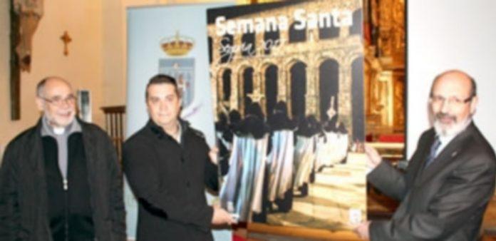 El pregonero y el autor de la foto del cartel