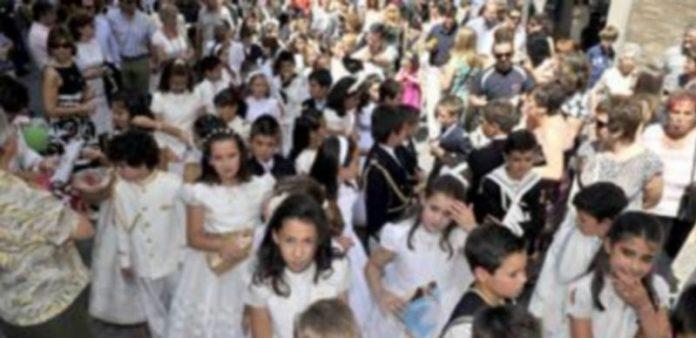 Los niños serán los protagonistas de la procesión Eucarrística del Corpus en Segovia. / Kamarero