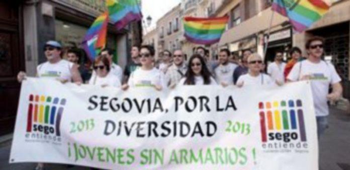 La Marcha del Orgullo LGTBH Segoviano