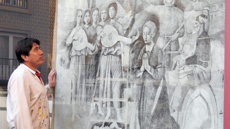 La Navidad llega a la taberna del Volapié con otra obra de López Saura