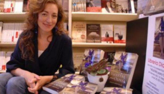 La escritora Julia Montejo. / J. Martín.