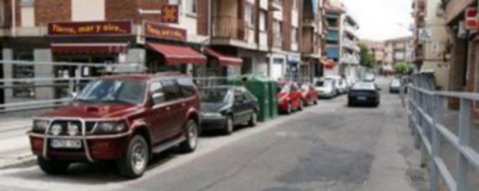 Estado actual de la calle Resina cuya primera fase de acondicionamiento se ha ejecutado este año./Gabriel Gómez