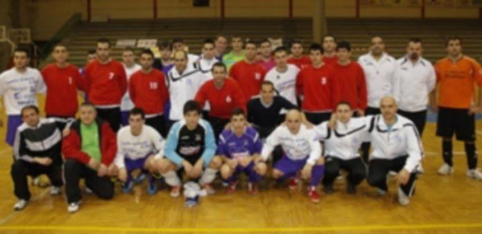 Jugadores de la categoría senior tras disputar el triangular./ Gabriel Gómez