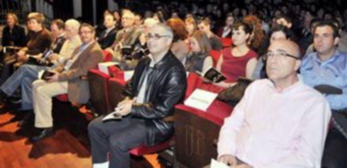 Un momento del recital de poesía del Día de la Poesía de 2011