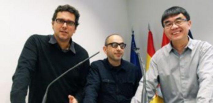 Tres de los expertos que intervinieron ayer en el simposio. / El Adelantado