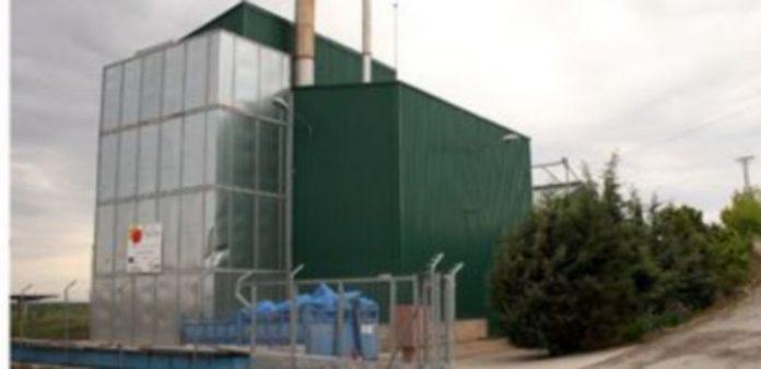 Exterior de la planta de biomasa del municipio