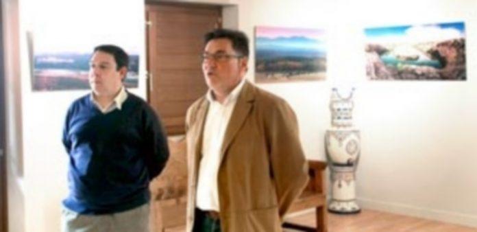 Eduardo Marcos junto a Pablo Quevedo
