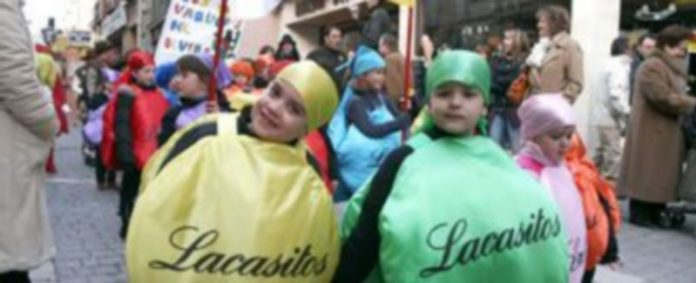 El desfile infantil que partirá de San Francisco precederá al concurso de disfraces. /Gabriel Gómez