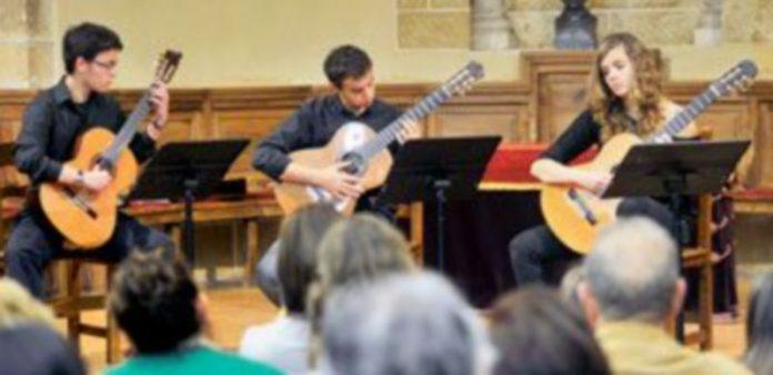 Imagen del concierto ofrecido ayer al mediodía en San Quirce. / Kamarero