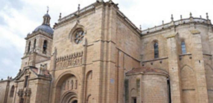 La catedral de Santa María en Ciudad Rodrigo