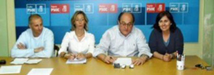 Algunos de los integrantes de la candidatura socialista al Ayuntamiento de la villa. /El Adelantado