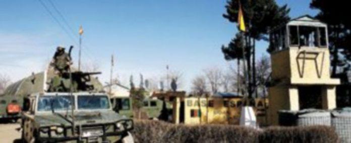 Fotografía de 2007 de la base afgana de Qala i Naw