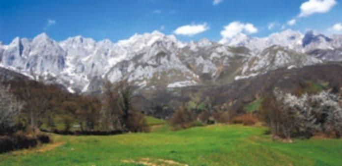El Parque Nacional de Picos de Europa en Posada de Valdeón