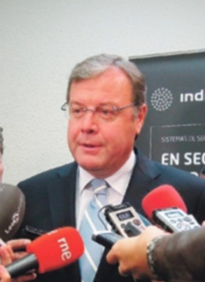 El consejero de Fomento y Medio Ambiente de la Junta de Castilla y León