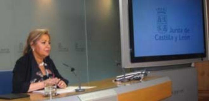 La vicepresidenta y portavoz de la Junta de Castilla y León