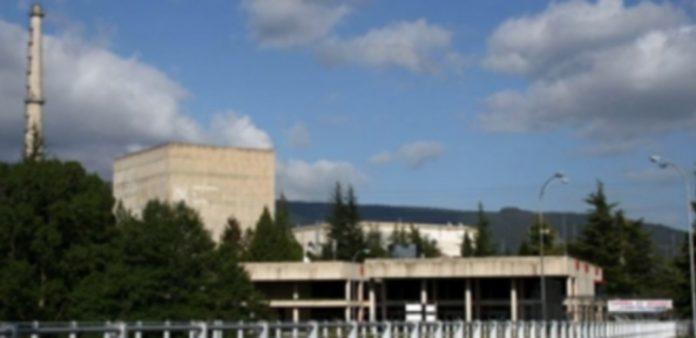 Exterior de la central nuclear de Santa María de Garoña (Burgos). / EP