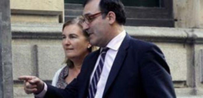 El juez Eloy Velasco a su llegada a la Audiencia Nacional. / EFE