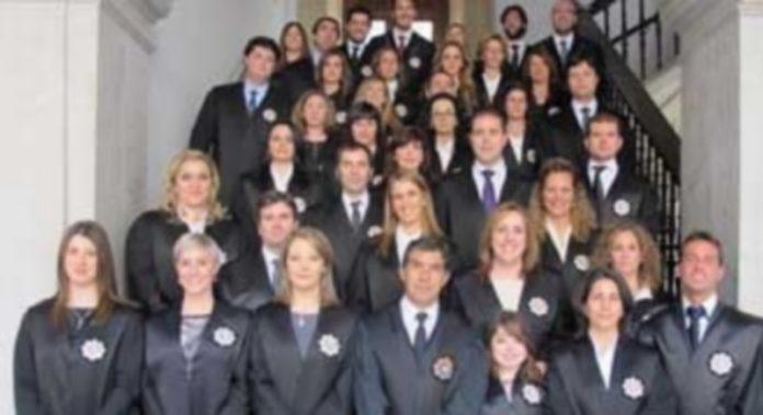 Una imagen de la diversidad de sexos entre magistrados españoles. / Efe