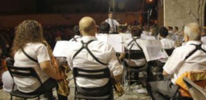 La Banda Municipal de Música celebrará con un concierto su décimo aniversario. / Gabriel Gómez