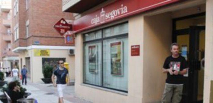 Oficina de Caja Segovia en la calle Severo Ochoa de la villa. / Gabriel Gómez
