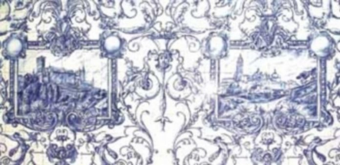 El parietal izquierdo de la antigua sacristía de La Fuencisla.