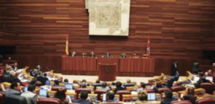 Imagen de una de las sesiones plenarias celebradas en las Cortes durante el primer periodo de la legislatura